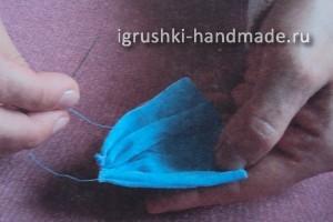 """как сделать игрушку """"Слон"""" своими руками из колготок"""