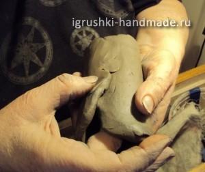 глиняная игрушка-свистулька, мастер-класс