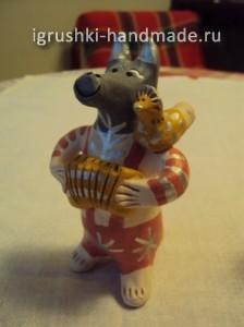 воронежская народная глиняная игрушка Галины Арефьевой