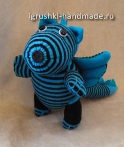 мягкая игрушка дракон своими руками