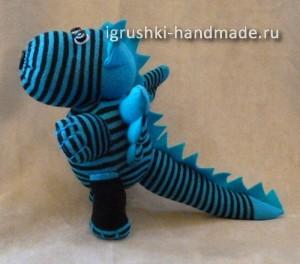 как сделать мягкую игрушку дракона своими руками