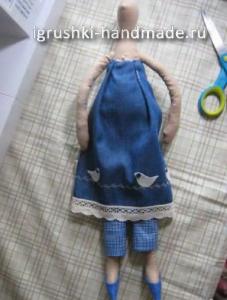 как сделать куклу Тильду своими руками, мастер-класс