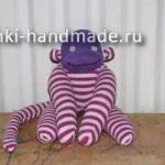 игрушки из носков своими руками,мягкая игрушка обезьянка