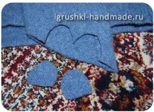 как сделать игрушку перчатку мышь своими руками из свитера