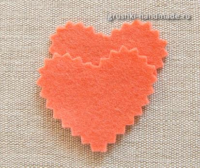 Как сделать' сердечко из бумаги своими руками