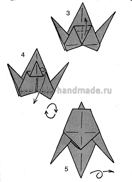 Как сделать ласточку из бумаги своими руками