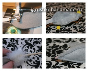 как сделать игрушку для кошки (мышку) своими руками