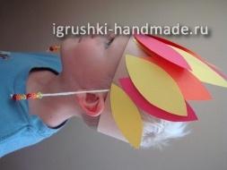 как сделать маску индейца своими руками