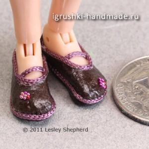 как сшить обувь для кукол своими руками