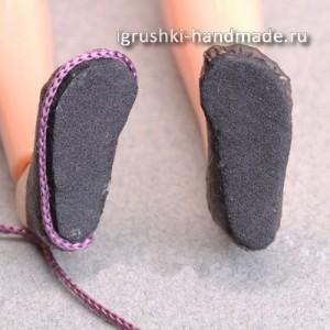 как делать обувь для кукол, мастер-класс