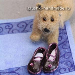 Делаем своими руками обувь для кукол фото 509