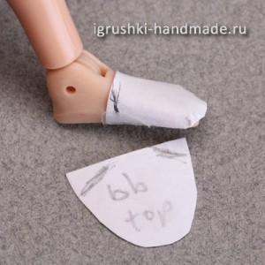 как сделать обувь для кукол своими руками