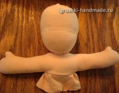 Как сделать кукле одежду своими руками из ткани