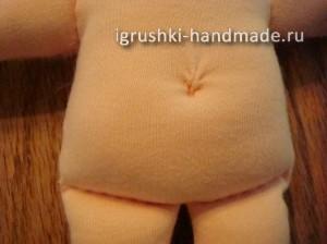 как сшить текстильную куклу Младенца своими руками