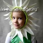 как сделать костюм цветка своими руками