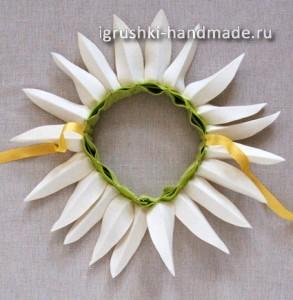 как сделать костюм цветка (ромашки) своими руками