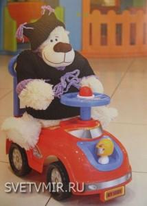 Черный костюм для медвежонка, игрушки своими руками