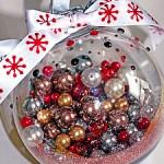 Украшение для ёлочки или Как сделать новогодний шарик