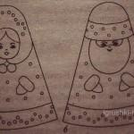 Снегурочка и Дед Мороз - новогодние куклы своими руками