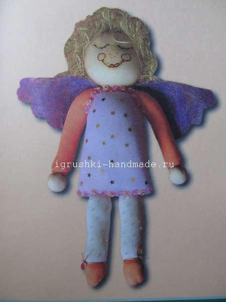 Ангел из колготок своими руками, игрушки своими руками, хэндмейд