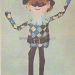 Кукла марионетка своими руками