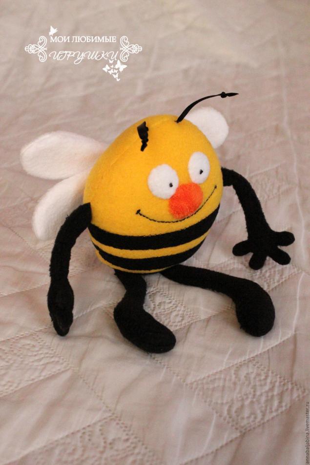 Мягкая игрушка Пчела своими руками
