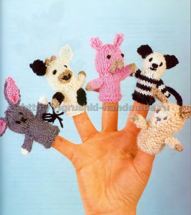 домашний театр, театр своими руками, своими руками, пальчиковые куклы, игрушки своими руками, Пальчиковый театр своими руками