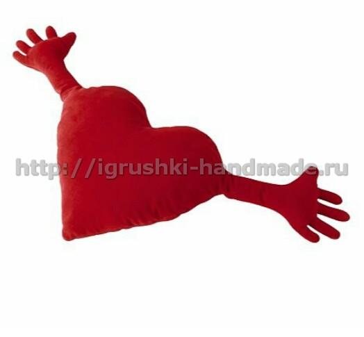 Подушка «Обнимашка» своими руками