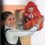 """Органайзер для игрушек """"Красная шапочка"""""""