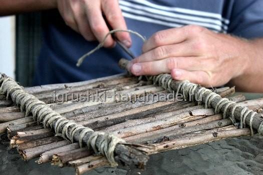 как построить плот своими руками