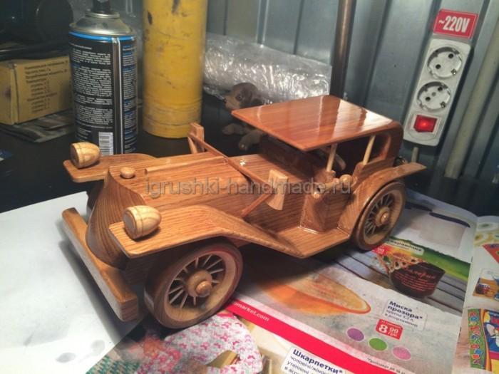 Как сделать деревянную машинку своими руками (пошаговый фотомастер-класс)