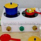 Детская плита своими руками