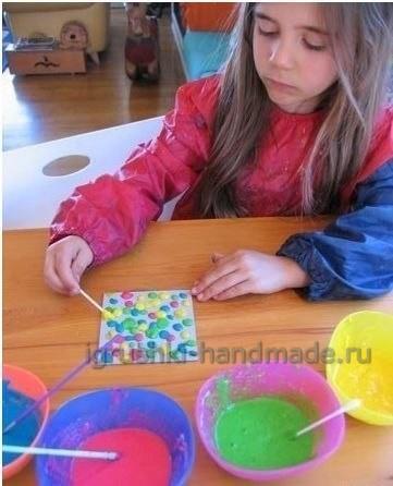 Объёмные краски своими руками