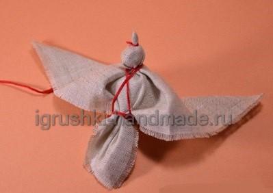 Птица из ткани своими руками