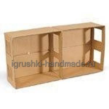 Как сделать домик для кукол из коробок
