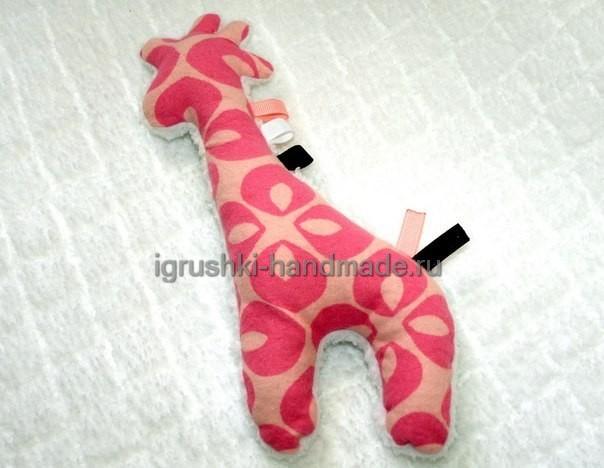 """Мягкая игрушка """"Жираф"""""""