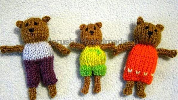 Медведи. Кукольный театр.