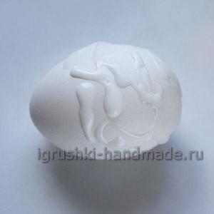 Поделка из яйца своими руками